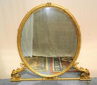 Large 5' Gilt Overmantel Mirror (2 of 6)