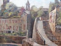 Oil on Canvas Cornish Seascape Listed Artist Dora Johns 1966 (3 of 10)