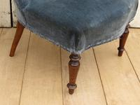 Pair of Antique French Tub Chairs (4 of 9)