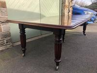 Antique Mahogany 3 Leaf Extending Dining Table (8 of 12)