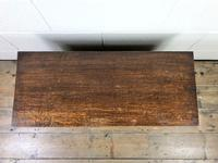 Small Antique Oak Panelled Coffer (4 of 10)