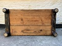Large 19thc Swedish Country House Robust Painted Pine Storage Coffer Chest (18 of 18)