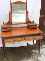 1910's Elegant Maple and Co Mahogany Dressing Table (4 of 5)