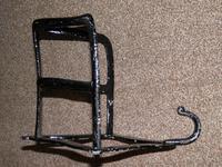 Antique Solid Cast Iron Set of 3 Harness Racks Inc Saddle, Bridle & Collar Hooks (5 of 15)