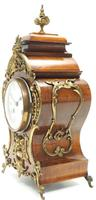 Magnificent French 8-day Mantle Clock Walnut Boulle Striking Mantle Clock (6 of 11)
