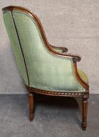 Carved Walnut French Armchair (4 of 11)