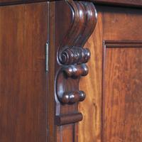 Victorian Mahogany 3 Door Wardrobe from Ayton Castle (8 of 12)