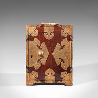 Antique Collector's Box, Chinese, Rosewood, Decorative Specimen Case c.1920 (3 of 12)