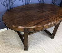 Edwardian Mahogany Writing Table (5 of 9)