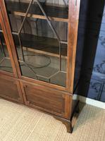 Edwardian Mahogany Bookcase (4 of 10)