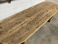 Large Rustic French Farmhouse Dining Table (15 of 18)