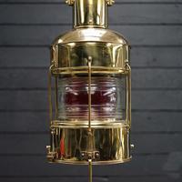 Original Ships Brass Nippon Sento Co – Oil Lamp (5 of 7)