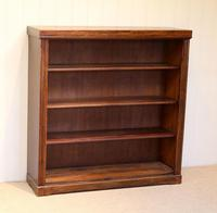 Oak Open Bookcase c.1920 (4 of 12)