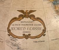 Decorative Early 20th Century Terrestrial Globe Atlas (8 of 20)