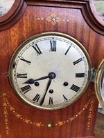 Antique Inlaid Mahogany Bracket Clock (5 of 8)