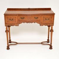 Antique Burr Walnut  Server / Side Table (3 of 11)