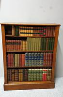Victorian Mahogany Open Library Bookcase (4 of 5)