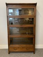 Antique Oak Stacking Lawyer's Bookcase (2 of 16)