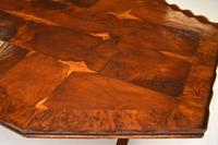 Antique Yew Wood Oyster Veneer Coffee Table (3 of 7)