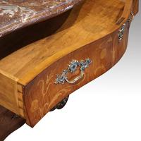 Continental Marquetry Bombe Commode Chest (6 of 14)