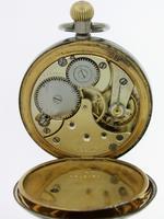 Omega Steel Open Face  Pocket Watch Swiss 1920 (4 of 6)