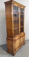 Mahogany Bookcase Bevan Funnell Reprodux V649 (9 of 10)