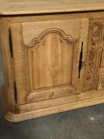 Superb Long French Oak Dresser Base (4 of 15)