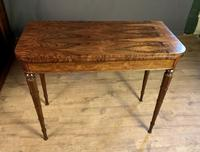 Superb French Rosewood Fold-over Top Card Table (8 of 14)