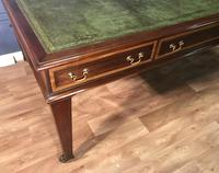 George III Style Mahogany Partners Library Table (5 of 14)
