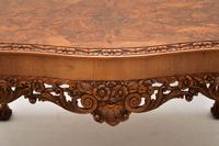 Antique Burr Walnut Queen Anne Style Coffee  Table (4 of 10)