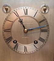 Mahogany Four Glass Ting Tang Mantel Clock (9 of 9)