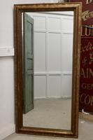 19th Century Large French Shabby Gilt Mirror (3 of 8)