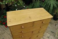 Gorgeous & Large Old Pine Chest of Drawers (3 of 7)