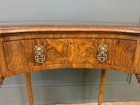 Burr Walnut Kidney Shaped Table (6 of 12)