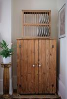 Tall Antique Pine Pantry Cupboard (15 of 15)