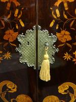 Outstanding Marquetry Cabinet on Stand (12 of 16)