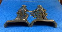 Pair of Victorian Brass Door Stops (3 of 16)