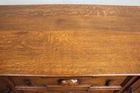 Antique Oak Sideboard Dresser Base (10 of 13)