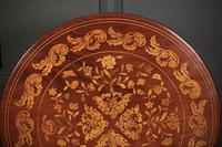 18th Century Dutch Marquetry Inlaid Occasional Table (6 of 14)