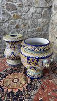 Montagnon French Majolica Jardiniere on Stand (16 of 16)
