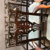 Set of 18th Century Mahogany Dining Chairs (15 of 21)