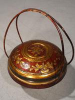 Early 20th Century Domed Topped Food Basket (5 of 5)