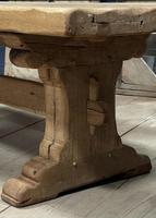 Superb Very Rustic French Oak Bleached Oak Farmhouse Dining Table (23 of 32)