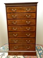 Mahogany Chest of Drawers - Maple & Co