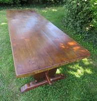 Large French Oak Refectory Dining Table (3 of 12)