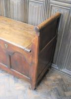 Antique French Coffer / Window Seat (7 of 7)