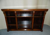 William IV Rosewood Bookcase.