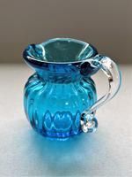 Delightful Victorian 'Solo' Glass Cream Jug (4 of 5)