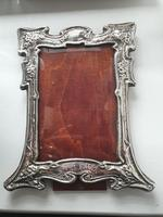 "Antique Art Nouveau HM Sterling Silver Frame ""DINNA FORGIT"" Birmingham 1904 (8 of 9)"