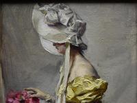 Alexandre-François BONNARDEL (1867-1942) Belle Époque Oil Painting (6 of 8)